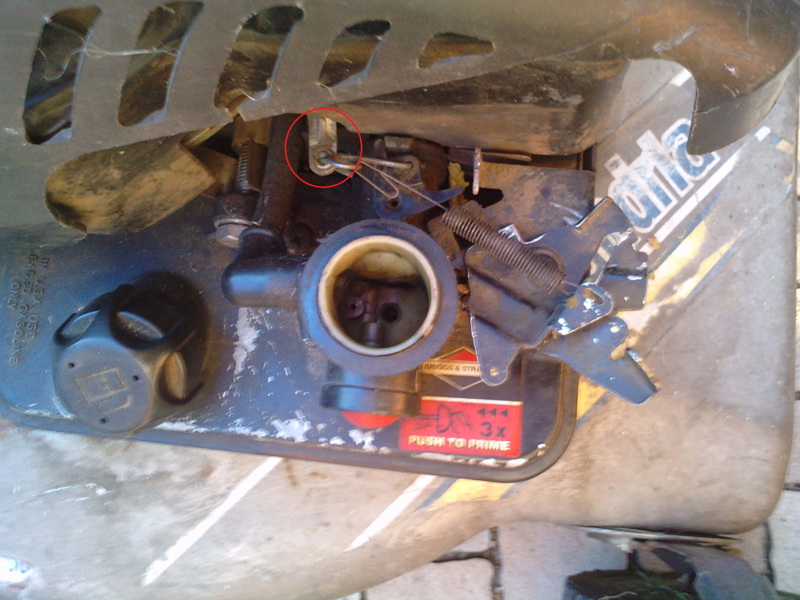 Briggs & Stratton - Nieregularna praca silnika quattro 40