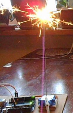 Zimne ognie i Arduino UNO R3
