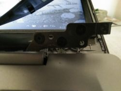Lenovo idea pad 120s - Prawa prowadnica matrycy pęknięta