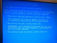 Nie idzie zainstalować żadnego systemu operacyjnego. Ani windows ani linux