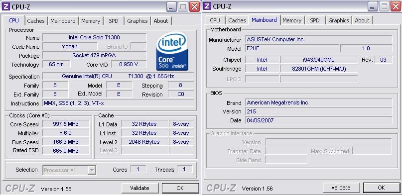 Asus F2HF - czy procesor dwurdzeniowy zadzia�a?