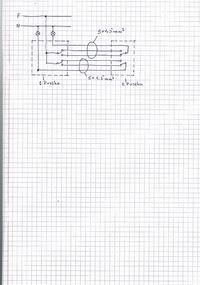 podłączenie dwóch wyłączników schodowych podwójnych pod istniejacy obwód.