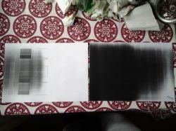 HP LaserJet PSC1102w - Zaczernia wydruk/kartki.