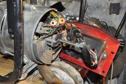 Agregat prądotwórczy TA 1500 - Zatarł się silnik.