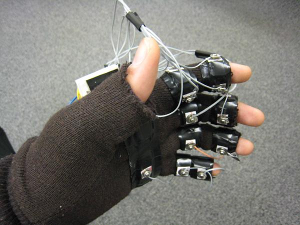 Bezprzewodowy system kontroli klawiatury/myszy gestami
