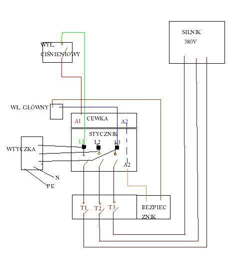 Jak pod��czy� kompresor 3 fazowy