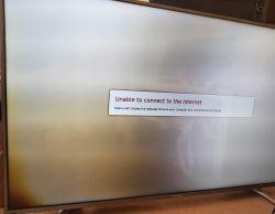 HiSense UB50EC591 - Paski na ekranie i brak połowy podświetlenia