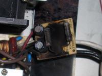 Chieftec model: HPC-360-202 DF przepalenie bezpiecznika i warystorów TVR 0727...
