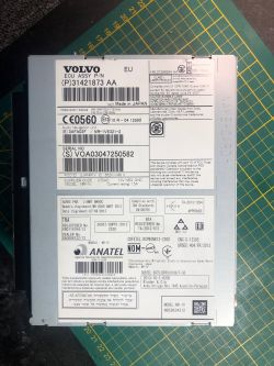 Volvo V60 - Dysk HDD jest niedostępny