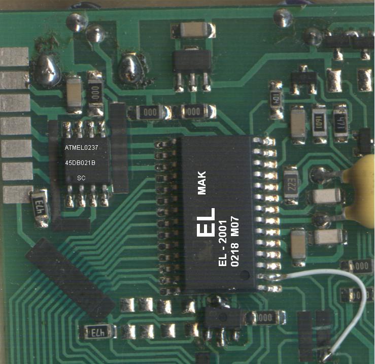Pilot podczerwieni ELMAK MAK 2002 MAXI schemat programatora