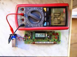 Licznik geigera (bez znienawidzonego MC34063) o poborze prądu < 3mA.