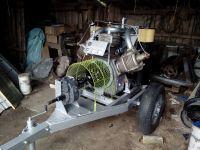 Sprężarka WD-53 - przeróbka do napedu z WOM ciągnika