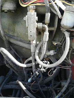 Manitou msi40 brak jazdy - Brak jazdy w wozku widlowym manitou, hydraulika wszys
