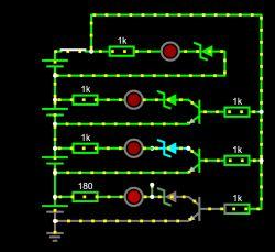 Chcę zaprojektować prosty wskaźnik rozładowania ogniw 18650