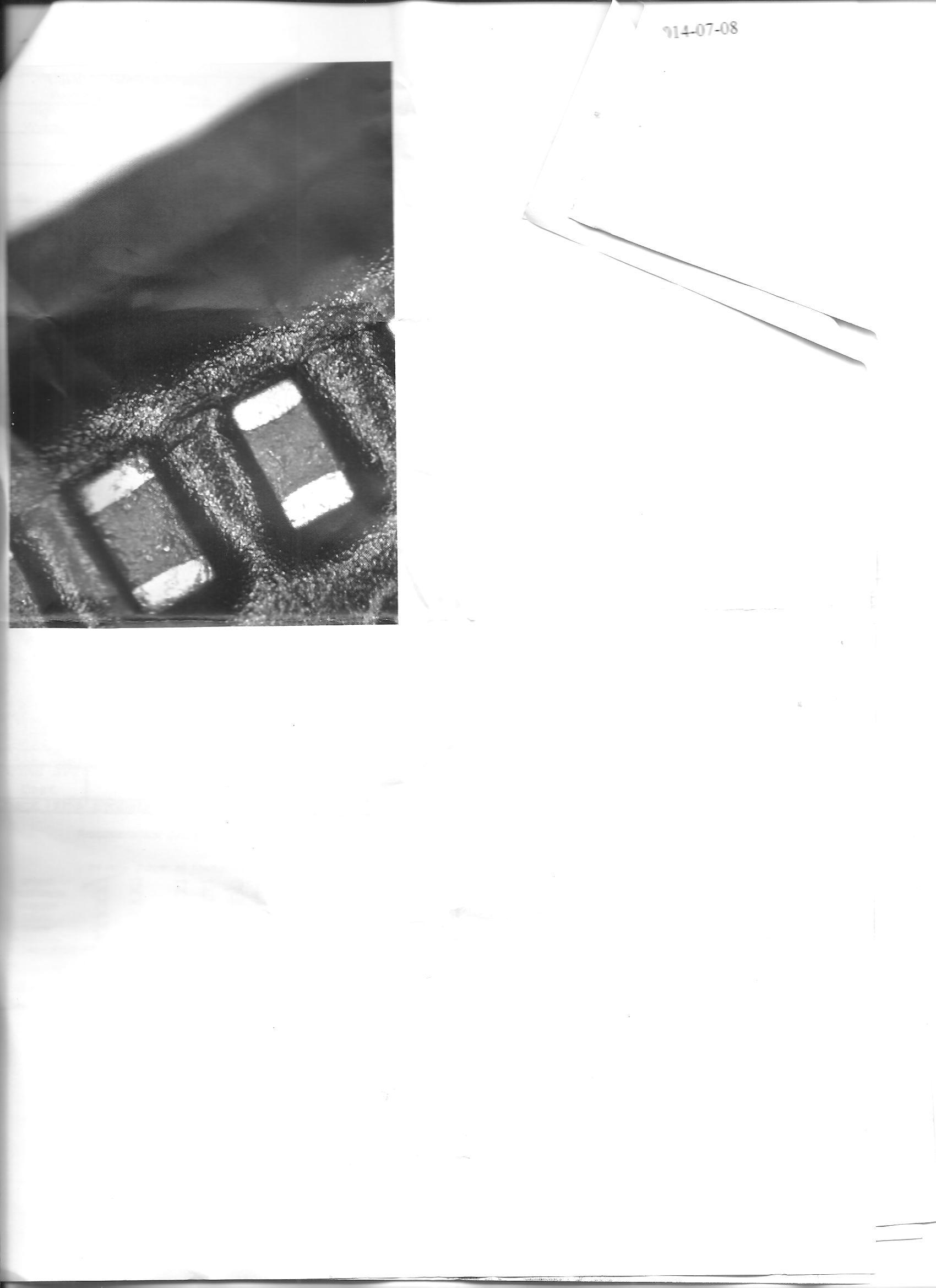 Mikrouszkodzenie na p�ycie g��wnej - LG L9