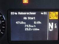 Mercedes Actros - wleczona oś skrętna