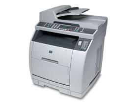 HP LaserJet 2840 - po wymianie bębna wciąż zacięcie papieru... nigdzie nie ma...