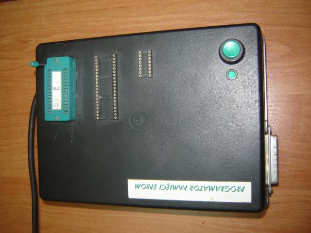 Programator EPROM identyfikacja