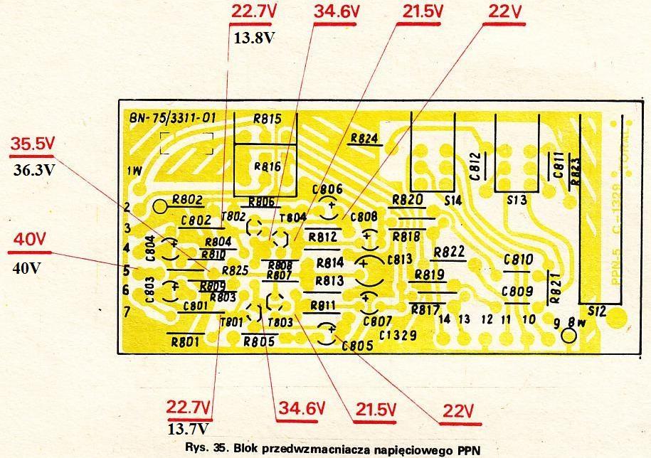 Radmor 5102 TE - Za ma�e napi�cie na p�ytce PPN