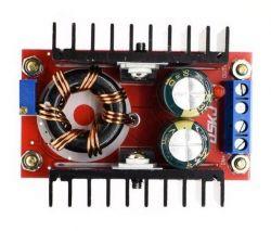 Opis przetwornicy step-up 150W opartej na UC3843A