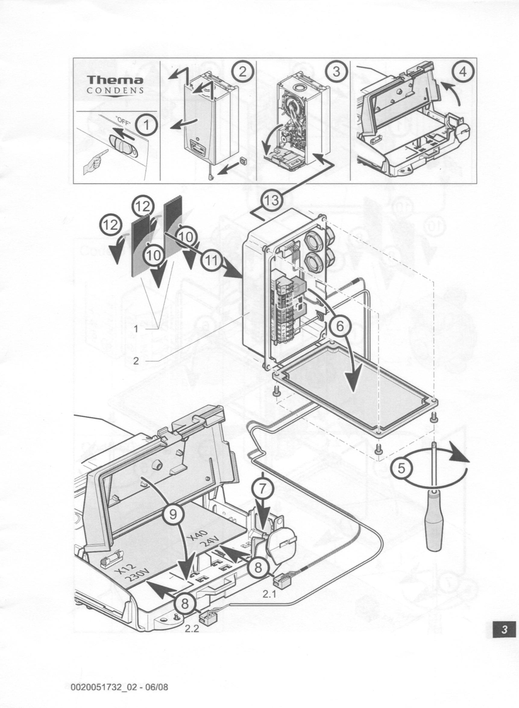 Saunier Duval FA S18 - pompa cyrkulacyjna