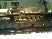 Yamaha AX-540 - Blrak lewego kanału