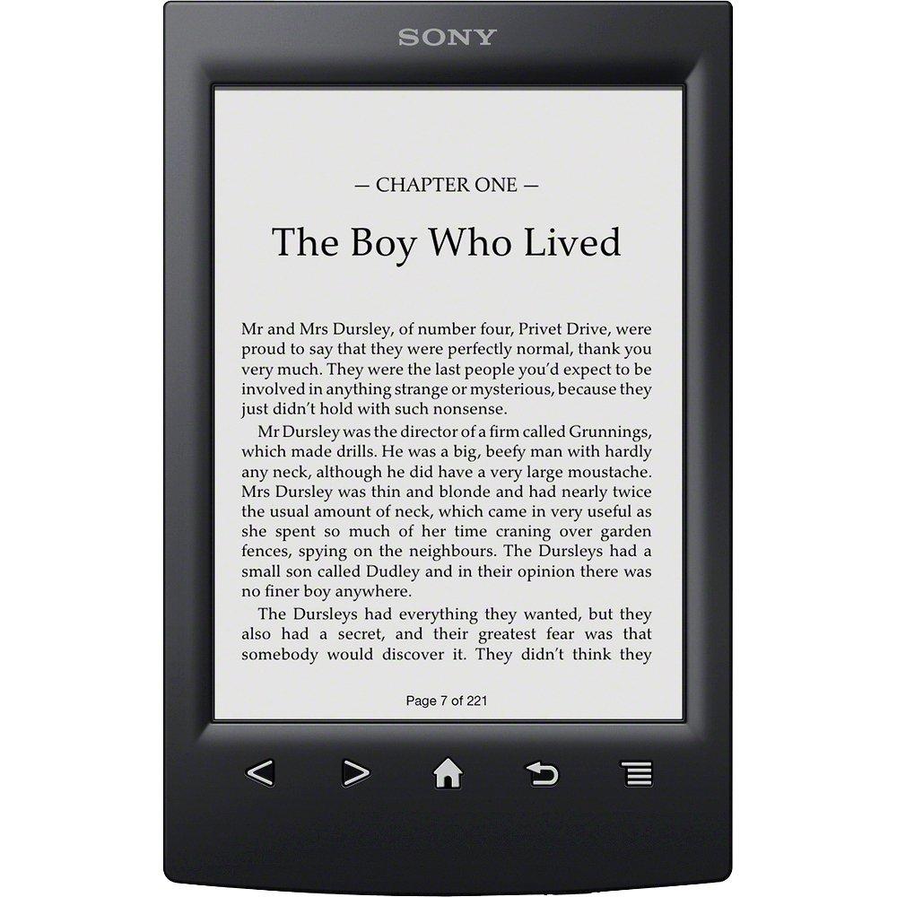 SONY Reader PRS-T2 - czytnik EPD z ekranem Pearl i nak�adk� dotykow�