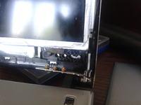 Laptop Asus - wy�amany zawias obudowy matrycy