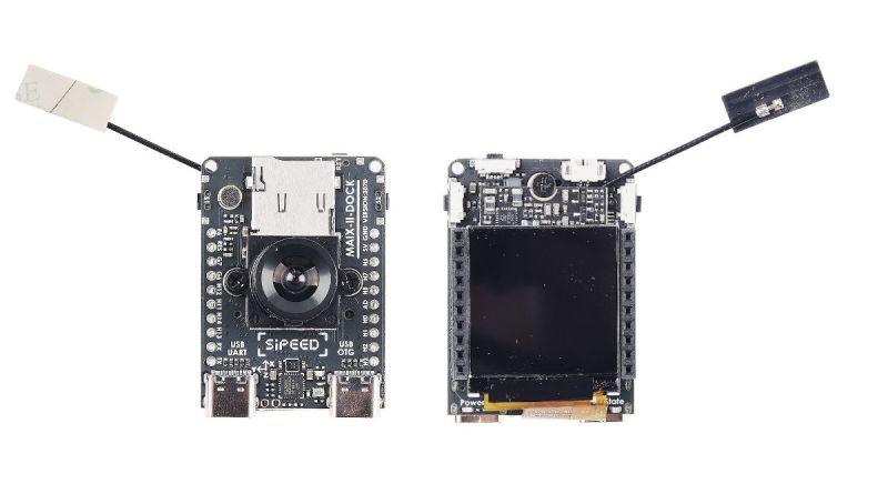 Sipeed MAIX-II Dock - oparty na Allwinner V831 zestaw do tworzenia wizji AIoT