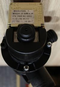 [Sprzedam] Pompę wody M00341 B30W pralki Whirlpool AWO/C 61200 - stan idealny!