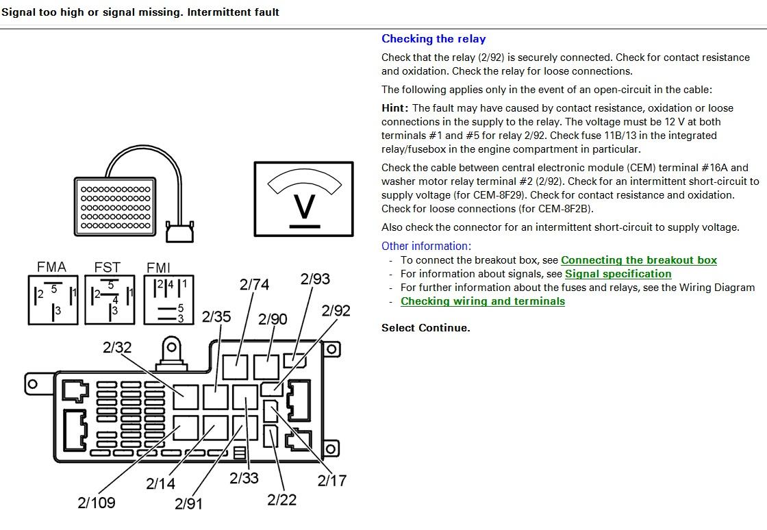 Szukam schematu skrzynki bezpiecznik�w Volvo s60 2003 D5