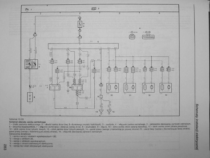 Toyota Corolla E11 FL - Awaria elektryki , centralny, radio, o�wietlenie