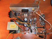 [Sprzedam] KOmpletny wzmacniacz 2x55W + transformator+regulacja tonów
