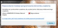 Lenovo laptop - Brak połączenia z internetem (WiFI) w laptopie