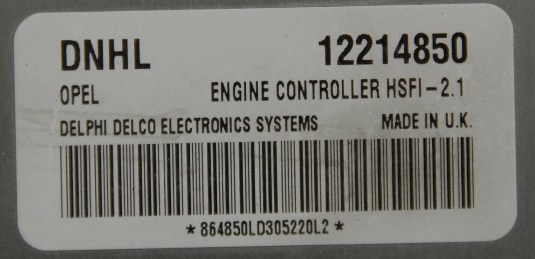 Astra G 1.4 2003 - Uszkodznu ECU nie za�acza wentylatora