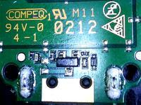 Wyrwane gniazdo z modemu Huawei E3131