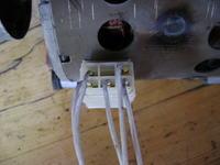 Candy - Schemat podłączeń uzwojeń silnika z pralki