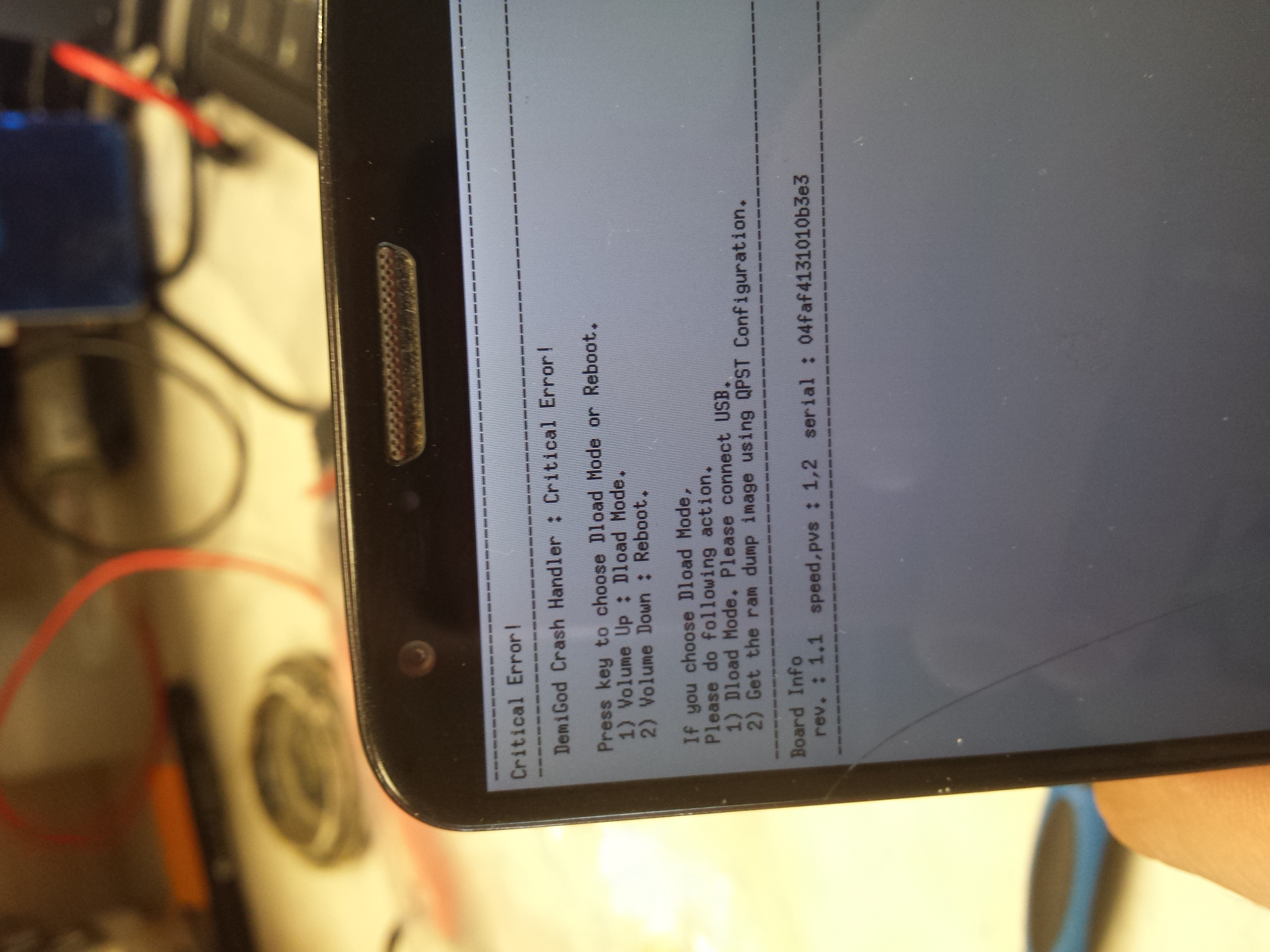LG g2 - Critical Error - błąd aktualizacji - elektroda pl