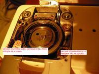 Maszyna do szycia Singer 760 -uszkodzone koło zębate