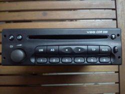 VDO CDR 500 - USB, AUX connection