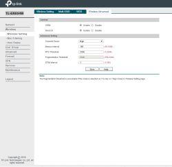 Rozłączające WiFi w TP Link TL-ER604W