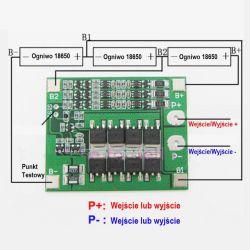 Mały BMS li-ion zamiast tradycyjnego akumulatora w motocyklu.