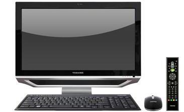 DX1210 - nowy komputer AIO od Toshiby