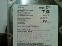 Seagate 7200.7 - Odwrotnie podłączony molex spalił dysk?