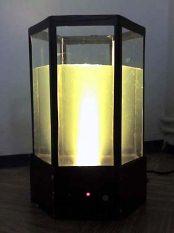 Akwarium z elektronicznym termostatem i ambilightem