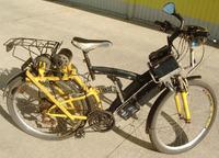 Rower elektryczny - własna konstrukcja