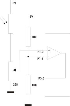 [AT89c2051][BASCOM]Komparator wewnętrzny - dziwne zachowanie