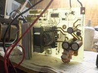 Półmostek, UC3846 - transformator sterujący i inne...