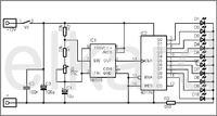 mały cyfrowy licznik impulsów na 5-12V