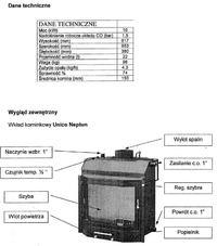 Prośba o schemat podłączenia kominka Unico Neptun 1